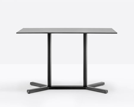 Bold rectangular outdoor table black