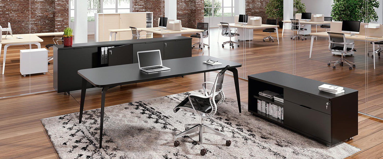 Alea workstation - Herman Miller chair - Espace et Vie Ltd