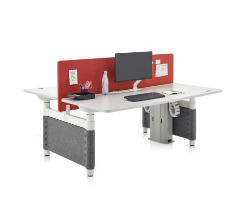 Herman Miller Atlas Sit-to-Stand desk down