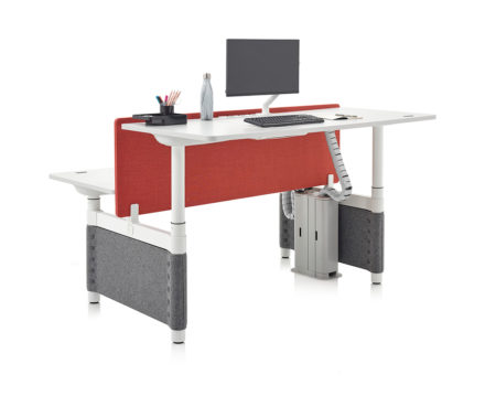 Herman Miller Atlas Sit-to-Stand desk up