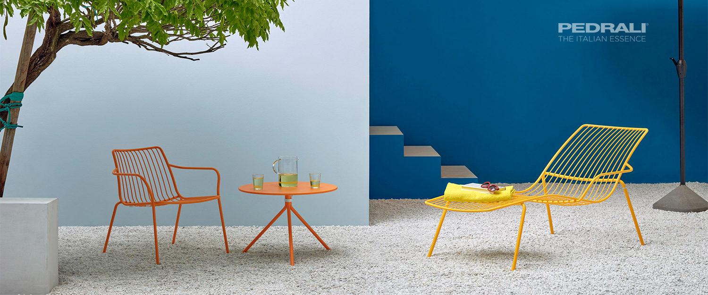Pedrali Nolita outdoor furniture specialist - Espace et Vie   Sièges et Bureaux